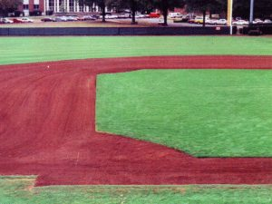 alabama baseball field stone dirt cover fill topdresser